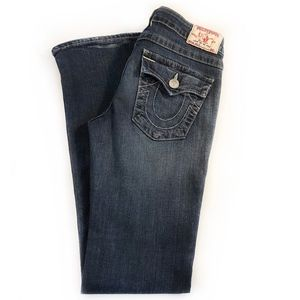TRUE RELIGION | Becky Low Rise Straight Leg Jeans